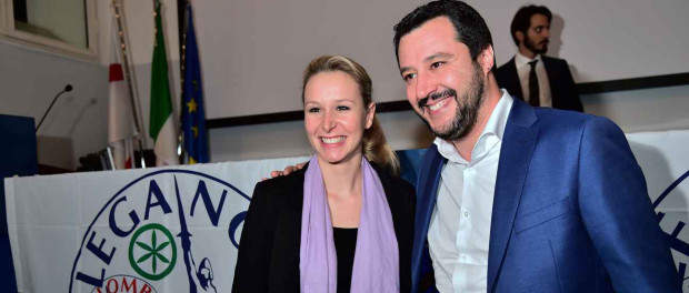 Le Pen Salvini